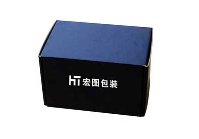 苏州某电子厂黑色纸盒