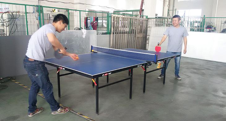 宏图包装乒乓球趣味活动