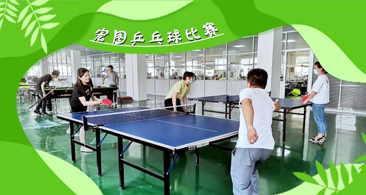 宏图乒乓球比赛