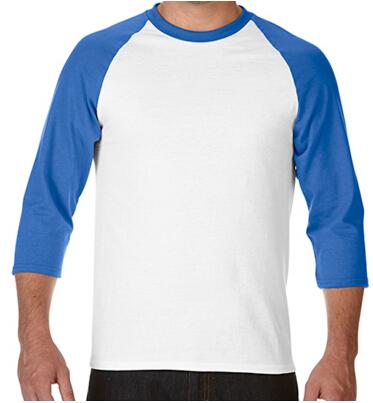 七分袖插肩T恤衫