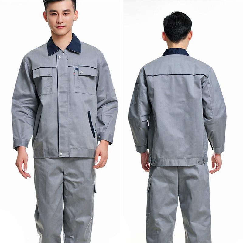 秋装长袖工作服套装