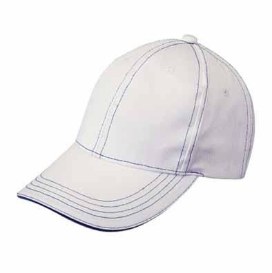 绗线棒球帽(夹三文)