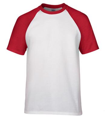 180g插肩袖成人圆领短袖T恤