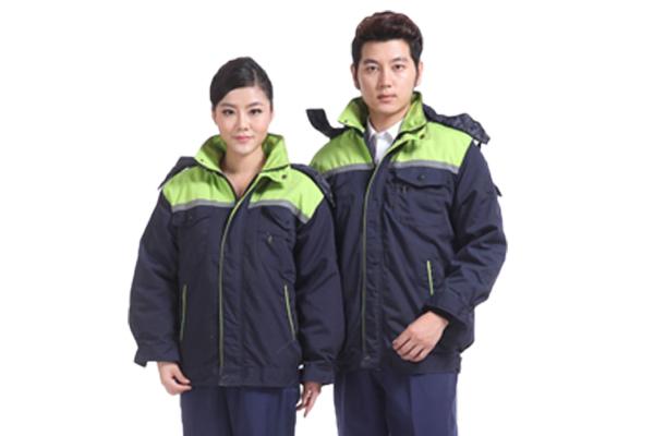 冬季加厚长袖棉服工作服