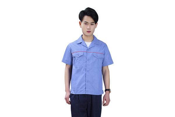 全工艺涤棉细斜纹夏季工作服(8310款)