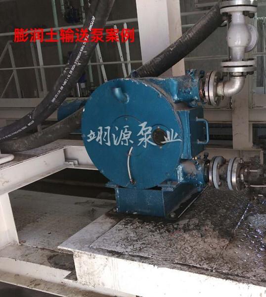 膨润土输送泵案例展示