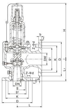 液化氣安全閥