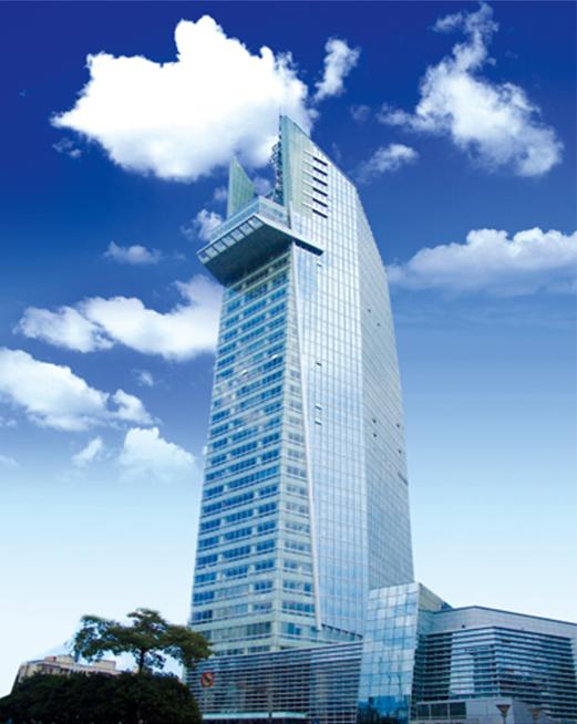福州电力调度通信中心大楼