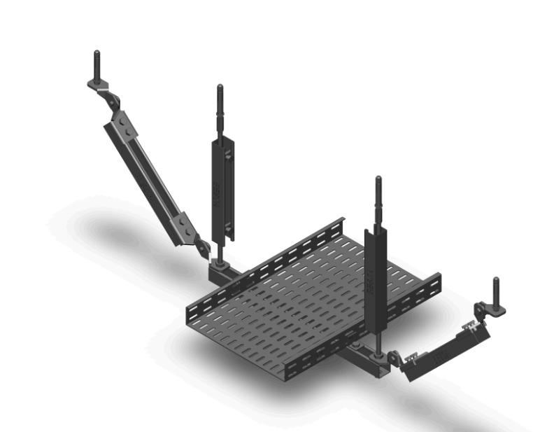 抗震支吊架组合式构件优势