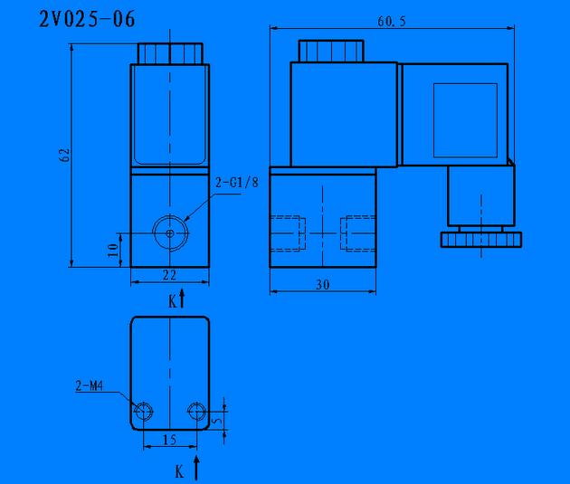 2V025-08(06)气动控制元件