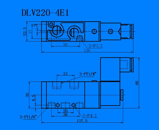 鼎力DLV220-4E1 电磁阀