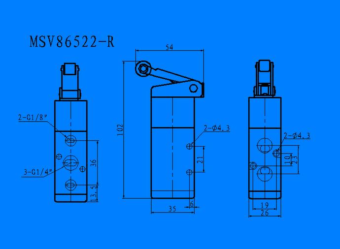 鼎力MSV-86522 系列机械阀
