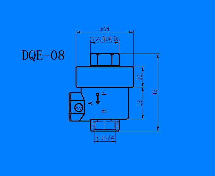 DQE 系列快速排气阀