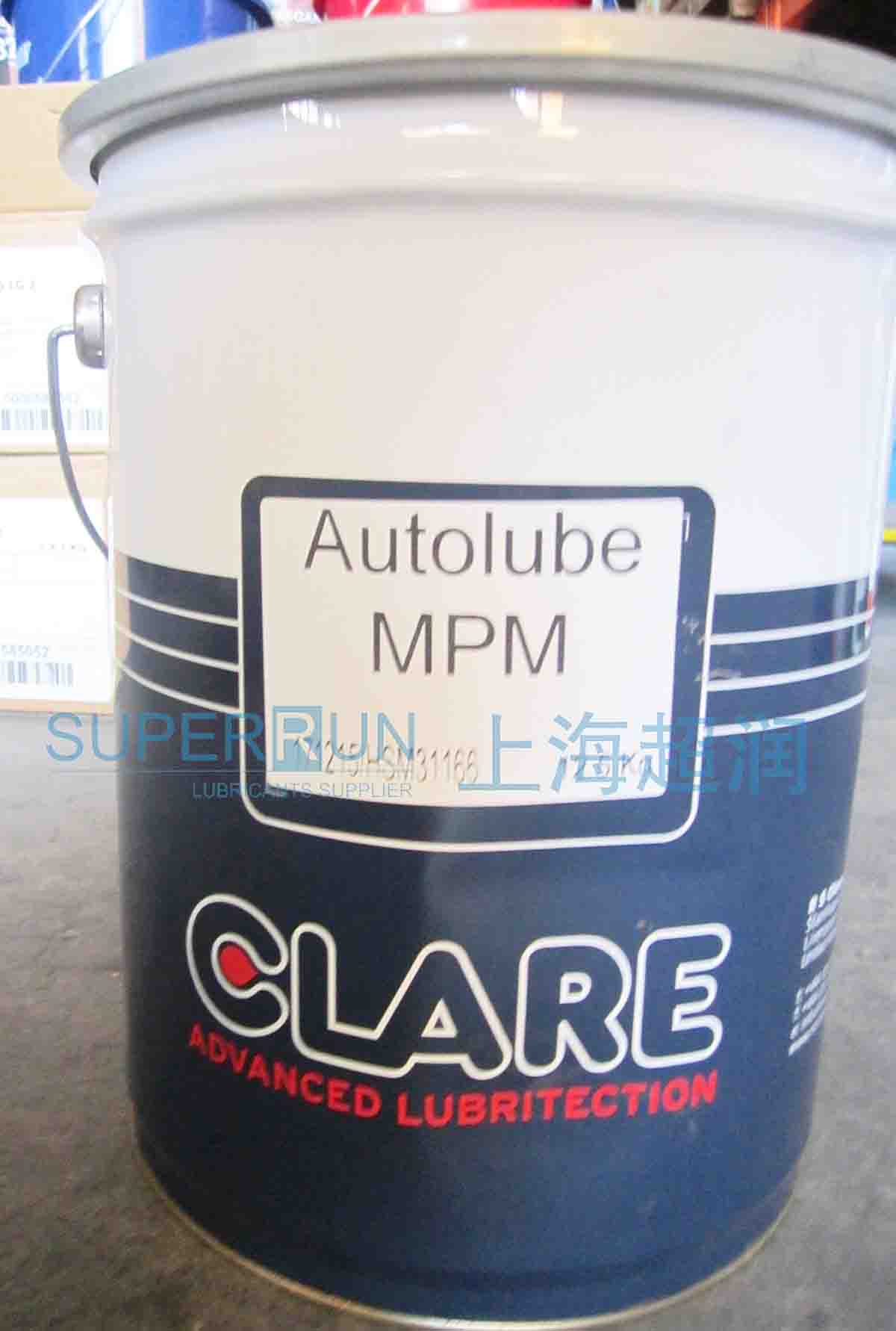 RS CLARE Autolube MPM 润滑脂