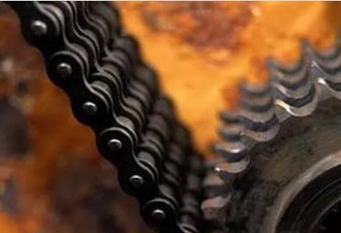 链条摩擦点与润滑类型
