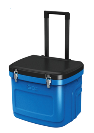 24L Cooler box with wheels SB1-G24