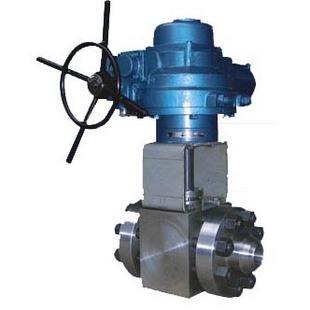 Q961N電動高壓對焊球閥