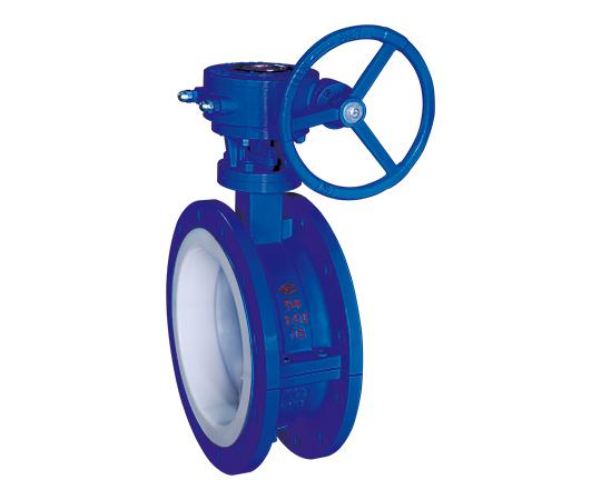 襯氟蝶閥非重閉式壓力釋放裝置的特性尺寸