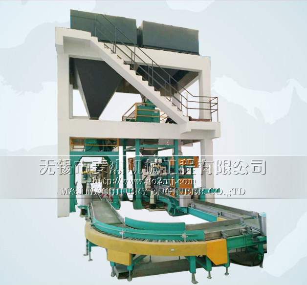 Automatic packing palletizing Plant