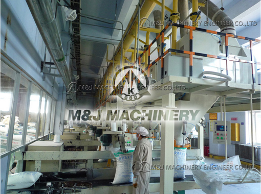 10 sets of corn starch packaging machines running for 18 months without trouble