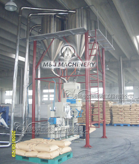 industrial salt bagging plant, bulk salt packing machine, salt packaging equipment