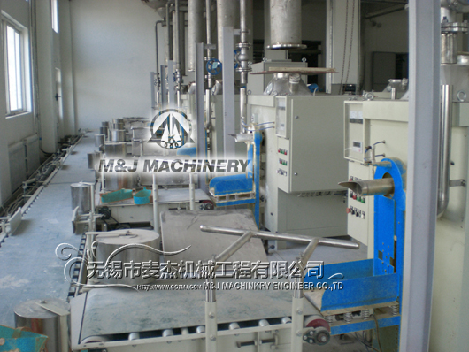 Dry mixing and packing line installed for dry mortar