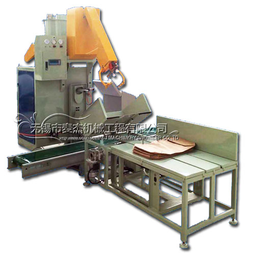 Automatic wall putty packaging line, automated valve bag filling system for putty powder