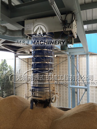 Telescopic Chute Loading Chute Retractable Cascade Chute