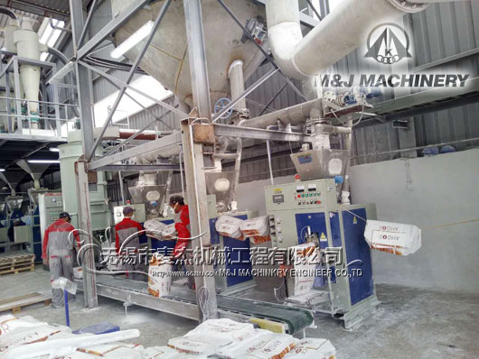 starch bagging system, starch packing machine