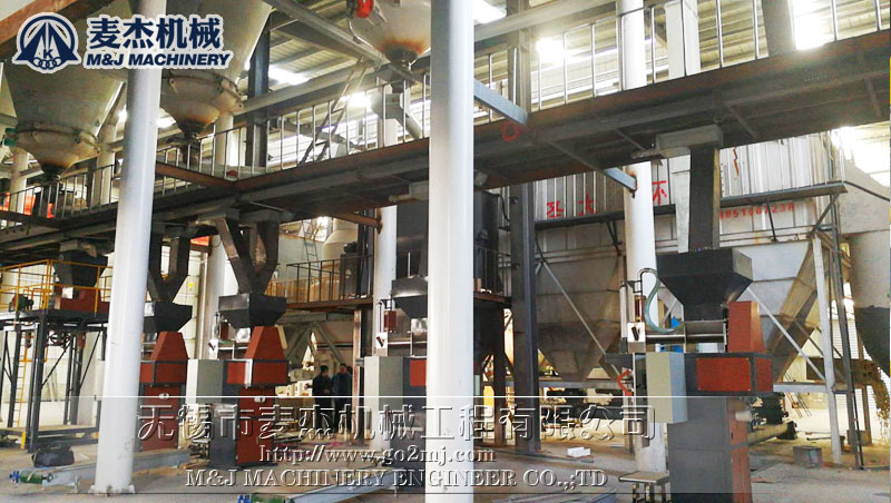 30t/h coal ash packing plant without dust flying