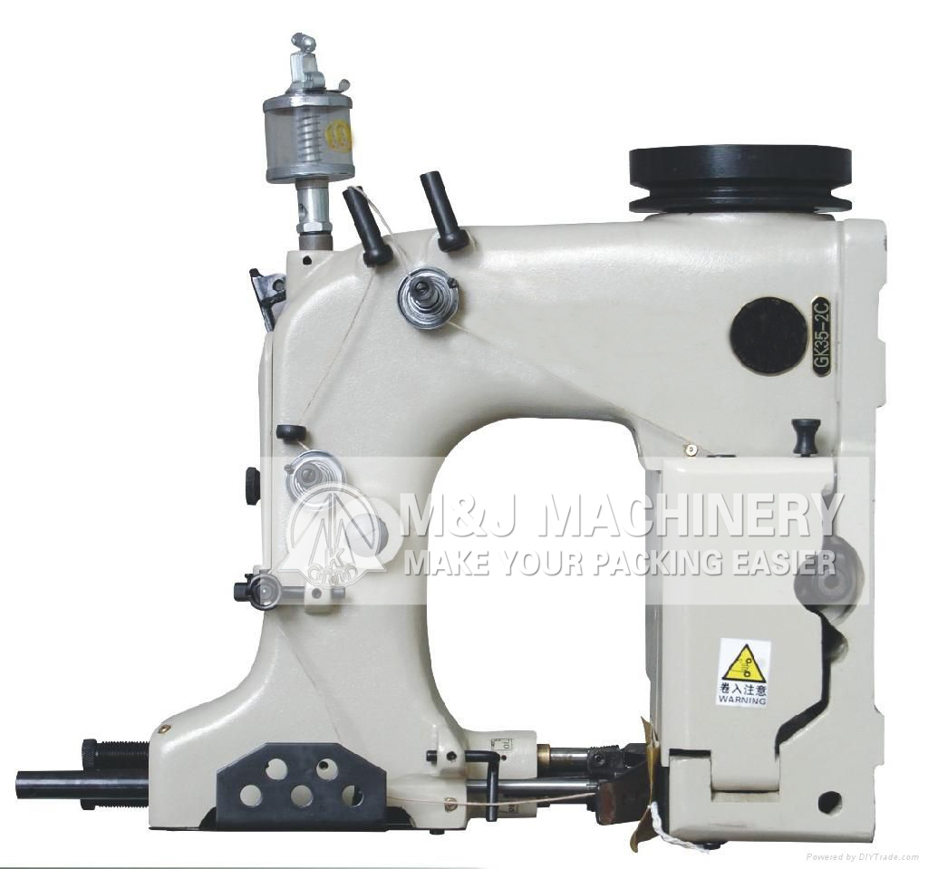 Automatic woven bag sewing machine