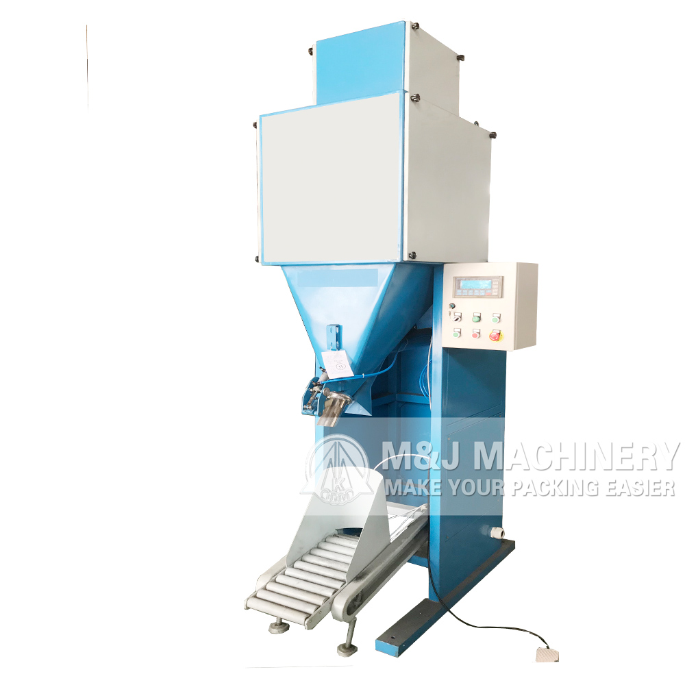 Granular fertilizer valve bag filling machine