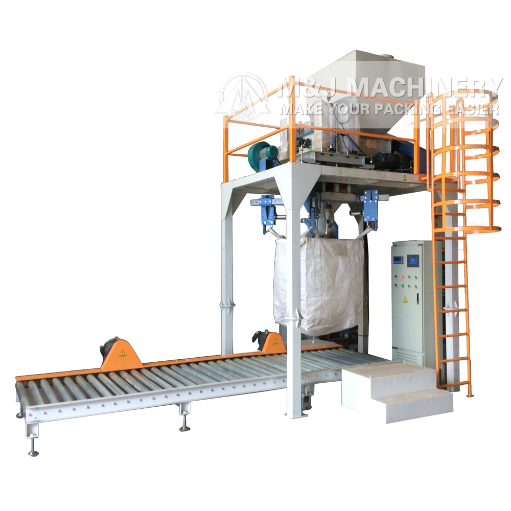 jumbo bag packing machine for starch, starch packaging machine for ton bag