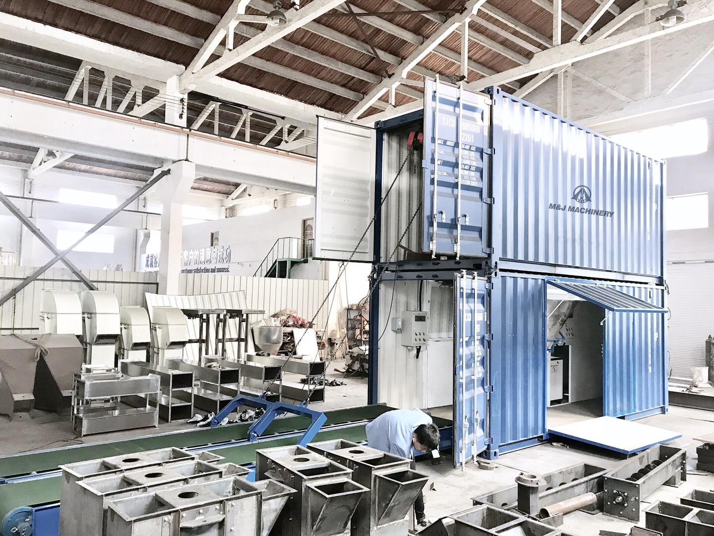 containerised bagging machine,Mobile Containerized Bagging System,mobile bagging machines