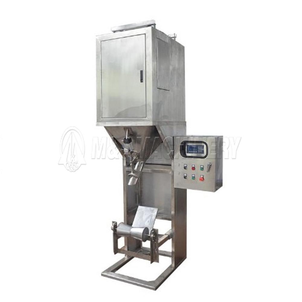 plastic granules valve port packing machine