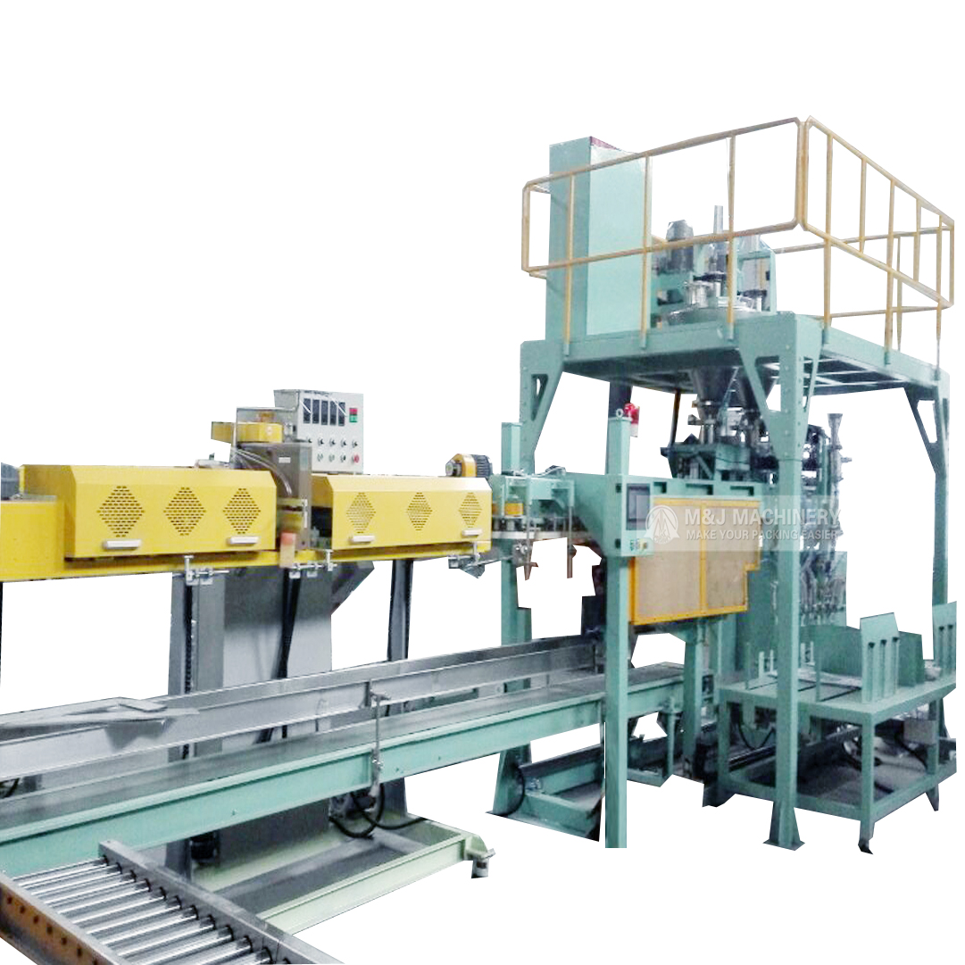 Automatic Bagging Packing and Palletizing Line