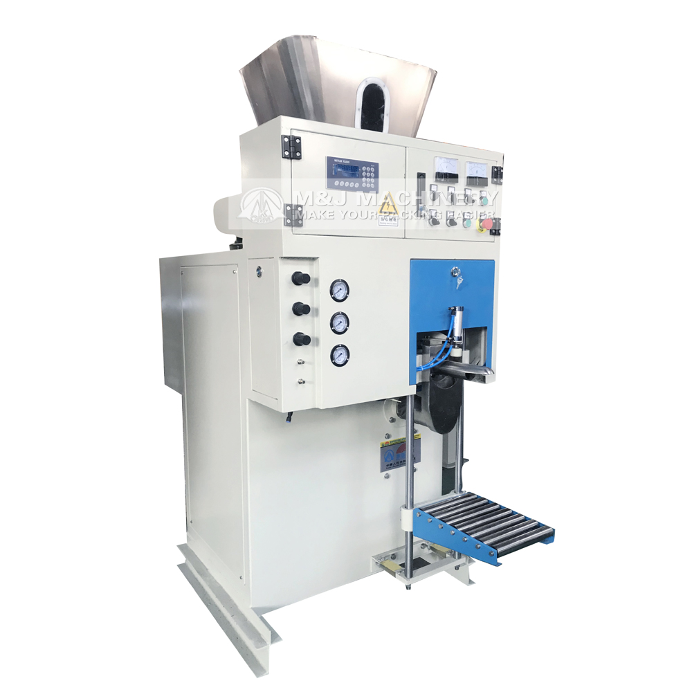 calcium carbonate valve bag powder filling machine