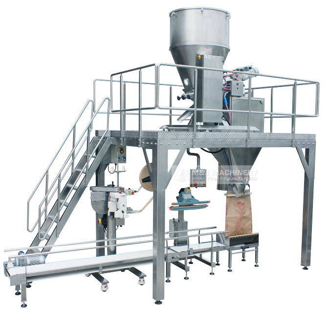 PVC powder filling machine,plstic powder packing machine