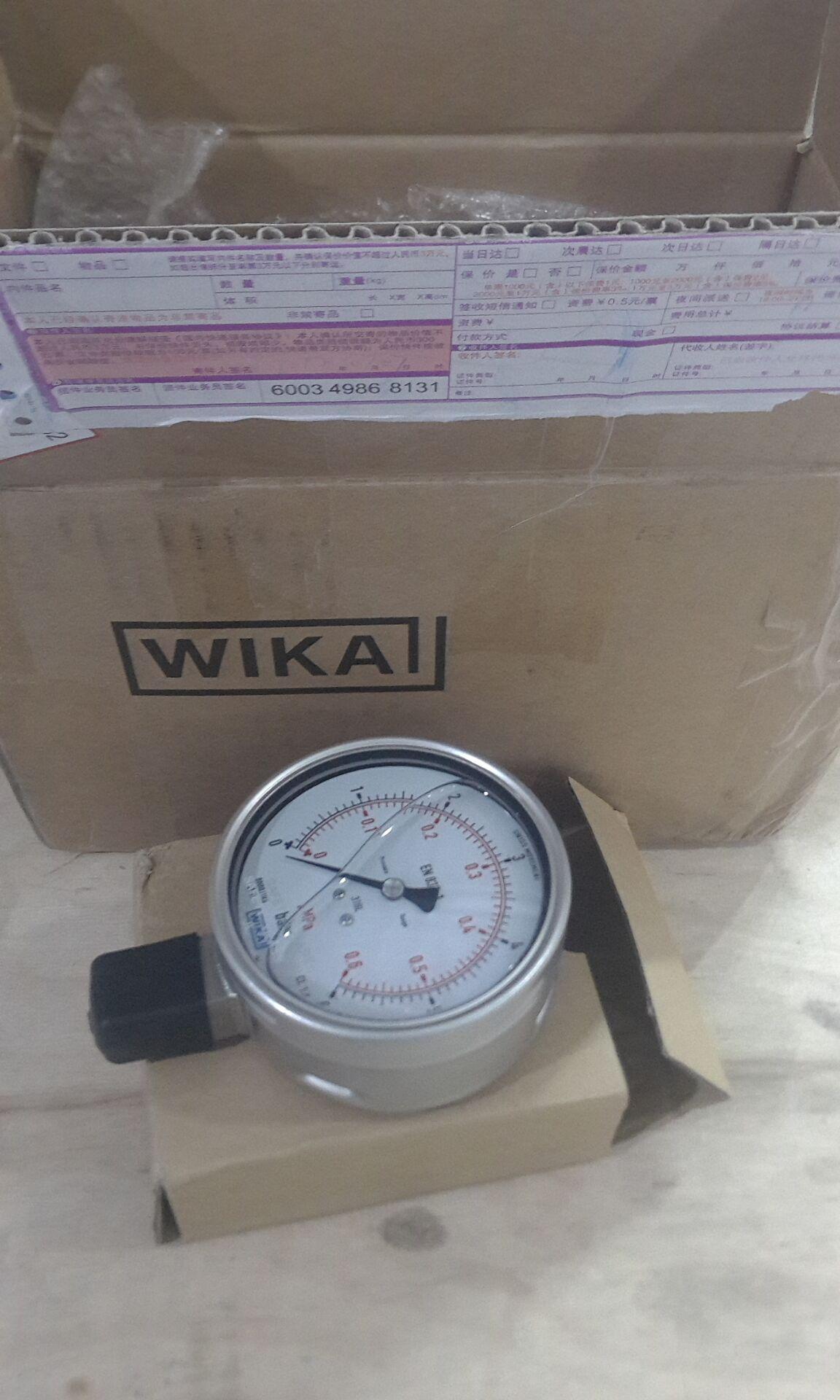 WIKA测量仪表、设备