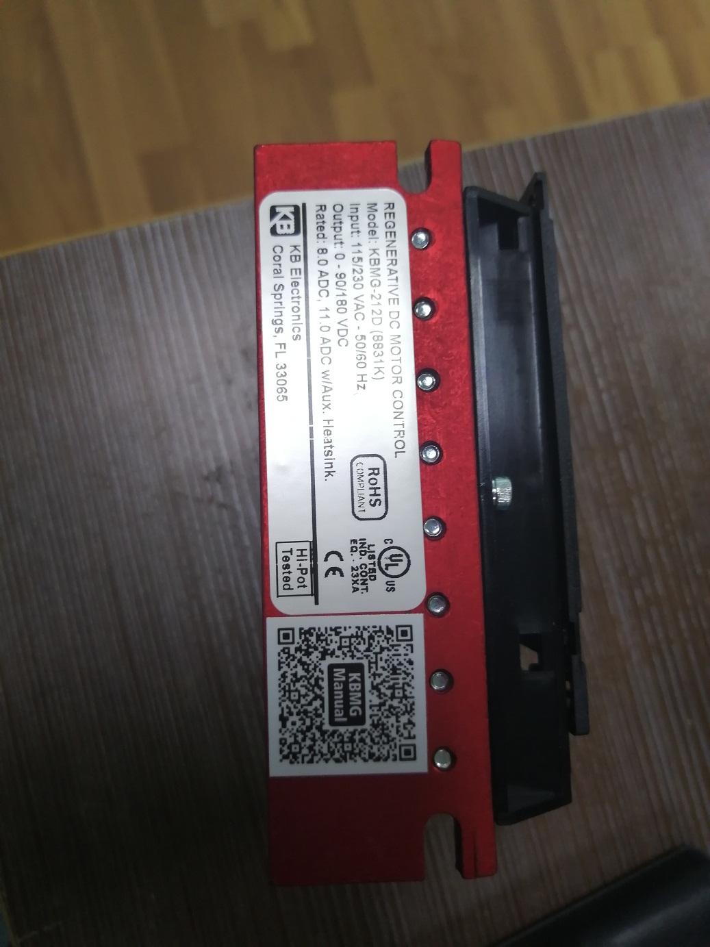 2020.07.31上海盛霞KB调速器到货照片