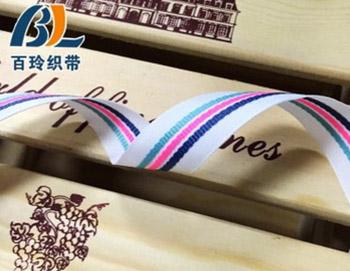 彩虹色织带