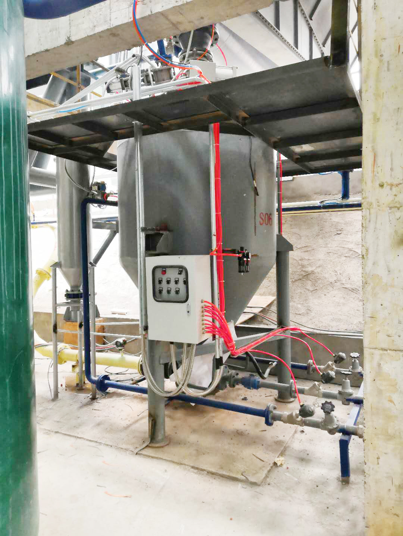 重庆国际年产30万吨硅铝原料粉气力输送项目现已正常投入生产