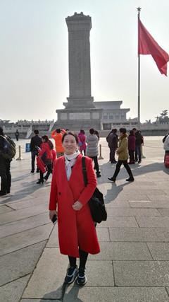 2016年春节人民英雄纪念碑_陈春香...