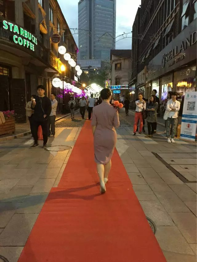 2014宁波外滩旗袍秀