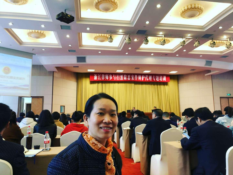 浙江律师参与扫黑除恶案件辩护代理专题...