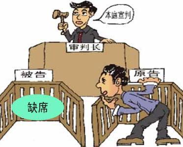 缺席判决成功案例--------被告不出席开庭怎么办