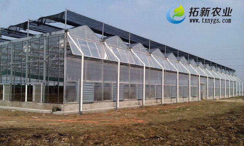 温室百科之全玻璃温室顶部铝型材如何安装