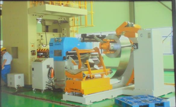 日本客户生产马达定转子硅...