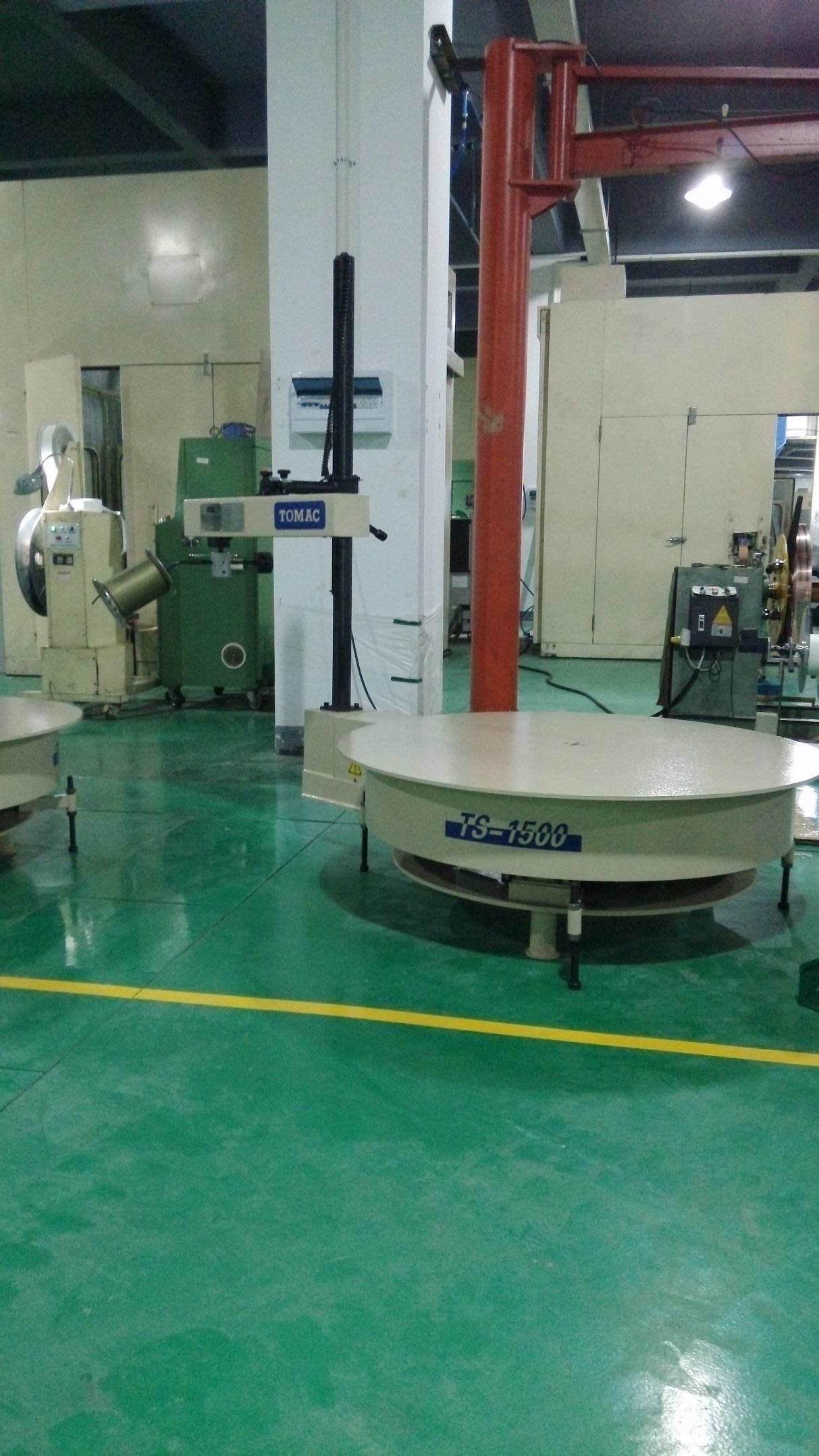 浙江客户工厂加工引线框架...