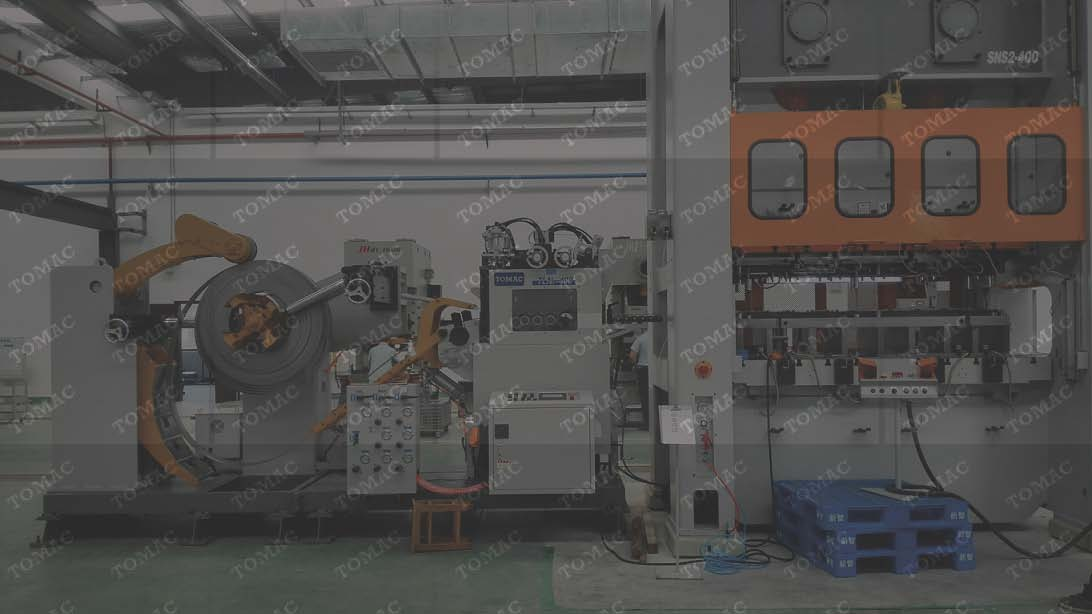 江苏客户工厂汽车零部件冲...